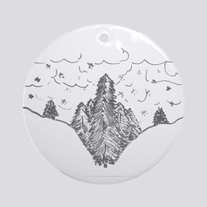 Finger Forest Ornament (Round)