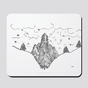 Finger Forest Mousepad