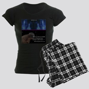Tuning-In Your Guides Women's Dark Pajamas
