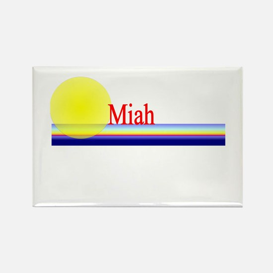 Miah Rectangle Magnet