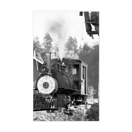 Roaring Camp Narrow Gauge Rectangle Sticker