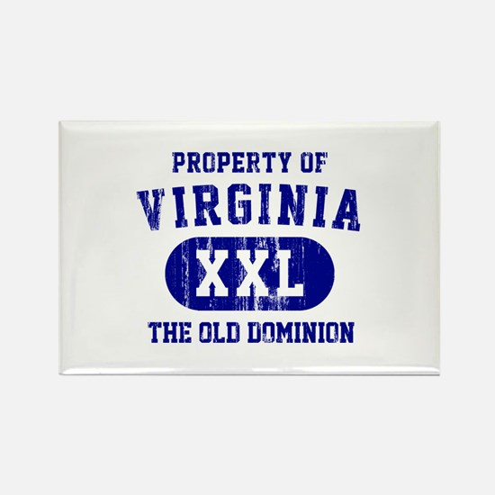 Property of Virginia the Old Dominion Rectangle Ma