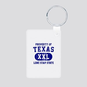 Property of Texas, Lone Star State Aluminum Photo