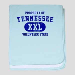 Property of Tennessee, Volunteer State baby blanke