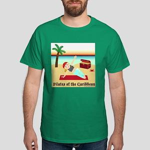Pilates of the Caribbean Dark T-Shirt