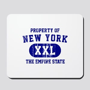 Property of New York the Empire State Mousepad