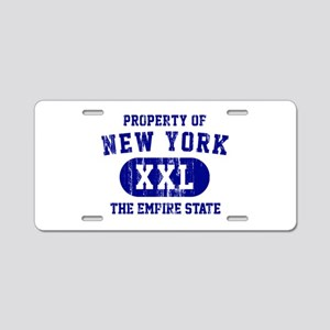 Property of New York the Empire State Aluminum Lic
