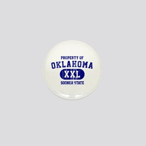 Property of Oklahoma the Sooner State Mini Button