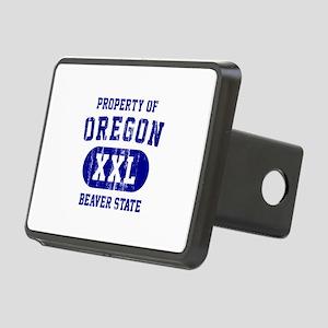 Property of Oregon the Beaver State Rectangular Hi