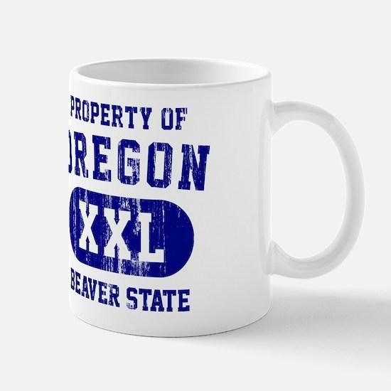 Property of Oregon the Beaver State Mug