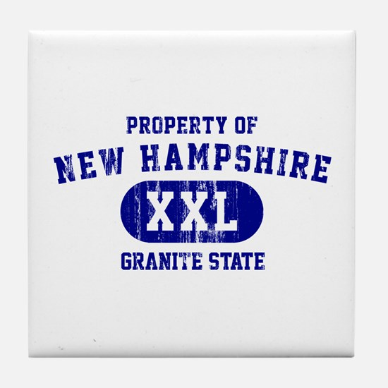 Property of New Hampshire the Granite State Tile C
