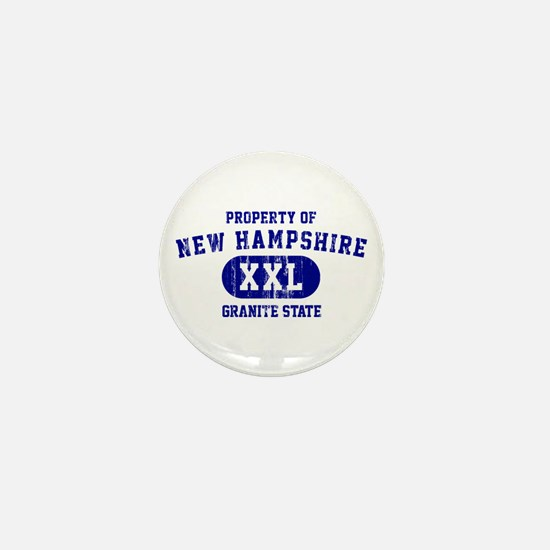 Property of New Hampshire the Granite State Mini B