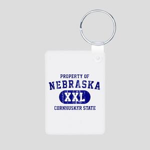 Property of Nebraska the Cornhuskers State Aluminu