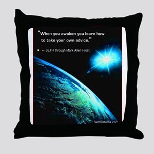 Take Your Own Advice Throw Pillow