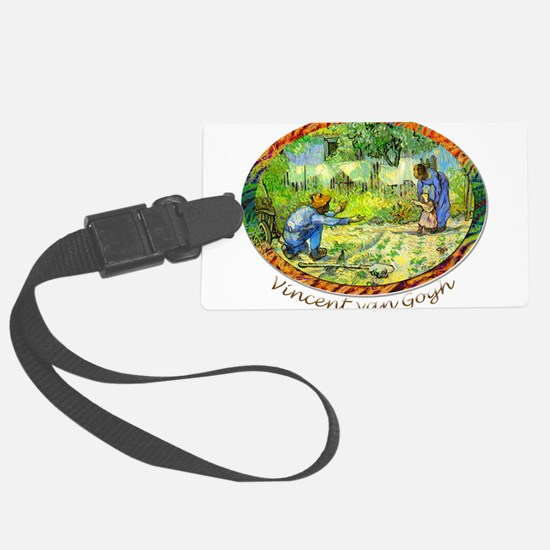 The First Step by Vincent van Gogh. Luggage Tag