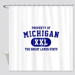 Property of Michigan the Great Lakes State Shower