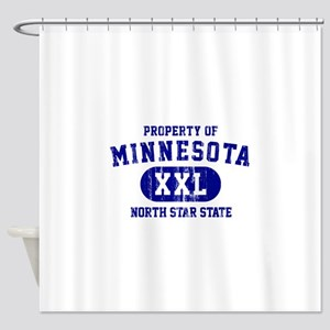Property of Minnesota, North Star State Shower Cur