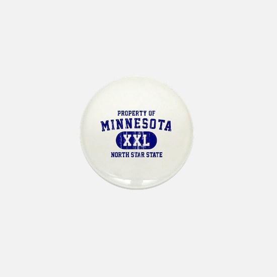 Property of Minnesota, North Star State Mini Butto