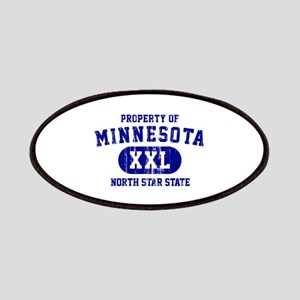 Property of Minnesota, North Star State Patches