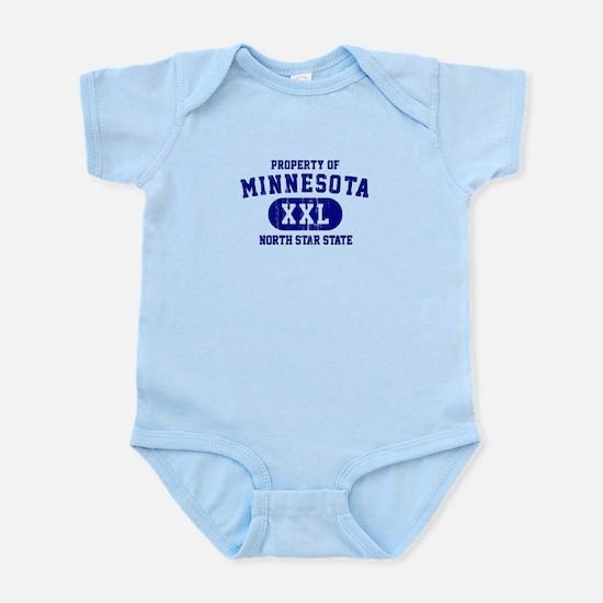 Property of Minnesota, North Star State Infant Bod