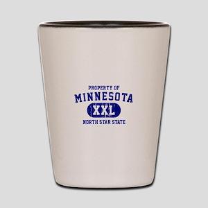 Property of Minnesota, North Star State Shot Glass