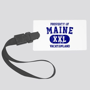 Property of Maine the Vacationland Large Luggage T
