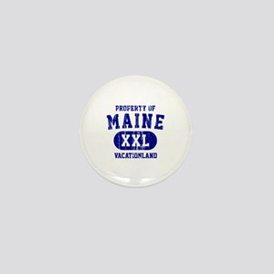 Property of Maine the Vacationland Mini Button