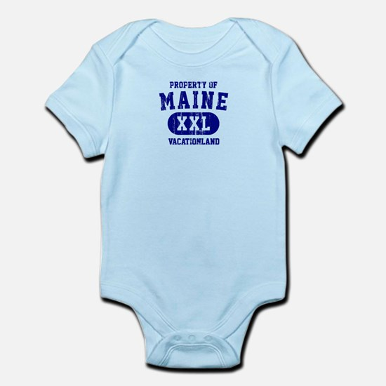 Property of Maine the Vacationland Infant Bodysuit