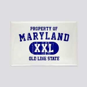 Property of Maryland the Old Line State Rectangle