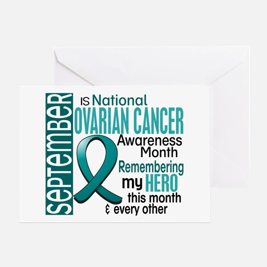 Ovarian Cancer Awareness Month Greeting Card