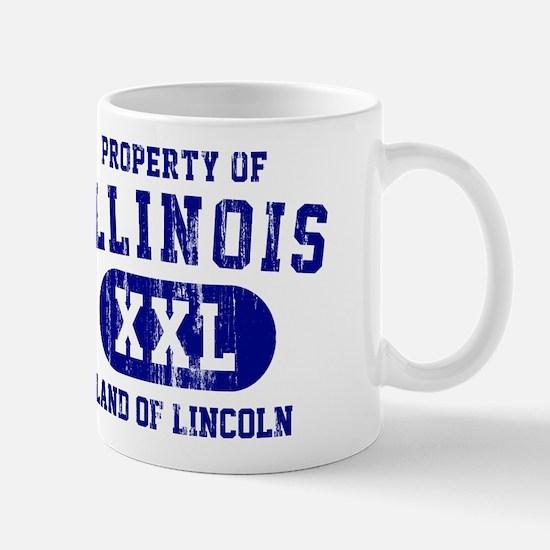 Property of Illinois the Land of Lincoln Mug