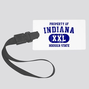 Property of Indiana the Hoosier State Large Luggag