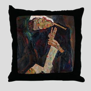 Schiele - The Lyricist Throw Pillow