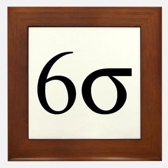 6 Sigma Framed Tile