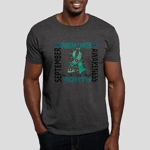 Ovarian Cancer Awareness Month Dark T-Shirt
