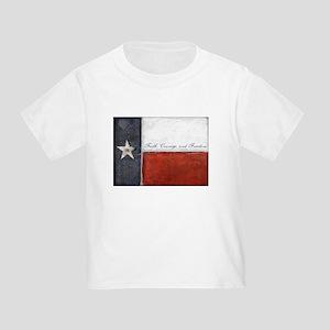 Texas Flag Toddler T-Shirt