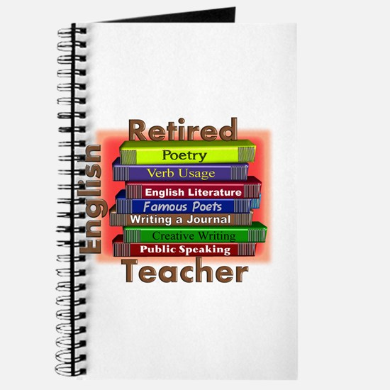 Retired English Teacher Book Stack.PNG Journal
