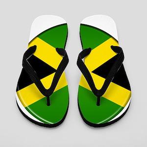 Jamaican Button Flip Flops