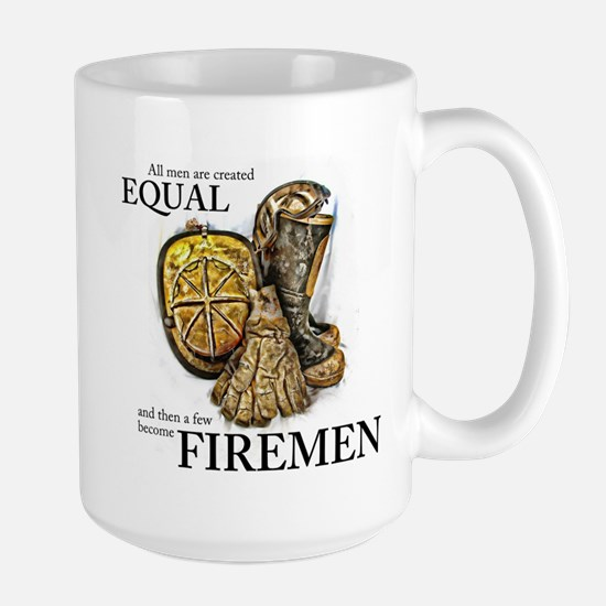 A Few Become Firemen Large Mug