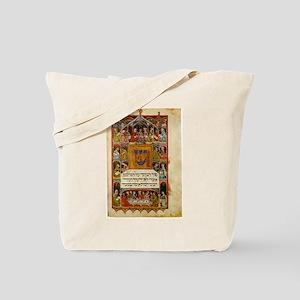 14th Century Haggadah Tote Bag
