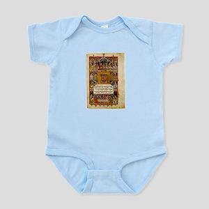 14th Century Haggadah Infant Creeper