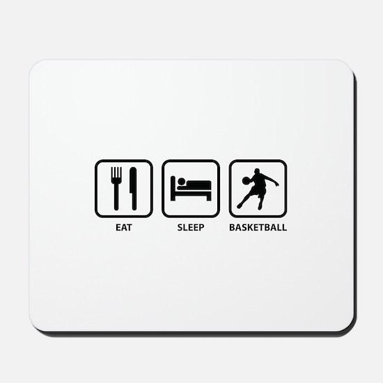 Eat Sleep Basketball Mousepad