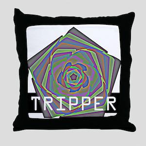 Tripper Throw Pillow