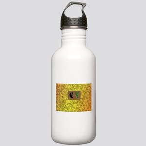 monogram E with lily of the valley Stainless Water