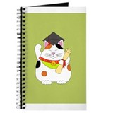Maneki neko cat Journals & Spiral Notebooks