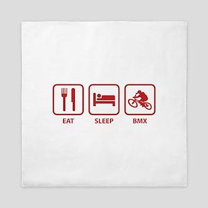 Eat Sleep BMX Queen Duvet