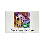 RS.com Rectangle Magnet
