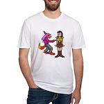 Malkavia Poke Fitted T-Shirt