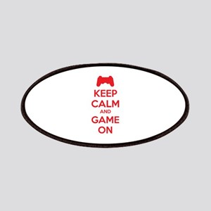 Keep calm and game on Patches