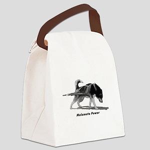 Malamute Power Canvas Lunch Bag